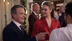 Paul Robinson, Chloe Brennan, David Tanaka in Neighbours Episode 7922