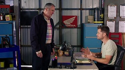Karl Kennedy, Mark Brennan in Neighbours Episode 7923