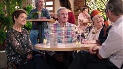 Susan Kennedy, Karl Kennedy, Jemima Davies-Smythe, Toadie Rebecchi in Neighbours Episode 7923