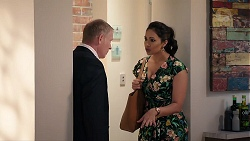 Clive Gibbons, Dipi Rebecchi in Neighbours Episode 7924