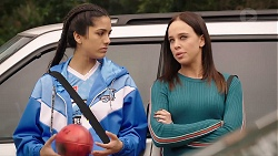Yashvi Rebecchi, Bea Nilsson in Neighbours Episode 7924