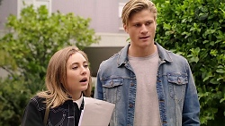 Piper Willis, Cassius Grady in Neighbours Episode 7924