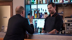 Clive Gibbons, Shane Rebecchi in Neighbours Episode 7924