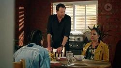 Yashvi Rebecchi, Shane Rebecchi, Dipi Rebecchi in Neighbours Episode 7925