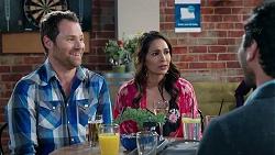 Shane Rebecchi, Dipi Rebecchi, Pavan Nahal in Neighbours Episode 7925