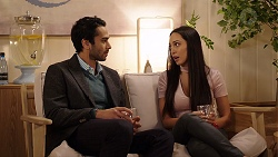 Pavan Nahal, Mishti Sharma in Neighbours Episode 7926