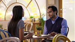 Mishti Sharma, Pavan Nahal in Neighbours Episode 7926