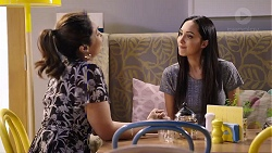 Dipi Rebecchi, Mishti Sharma in Neighbours Episode 7926