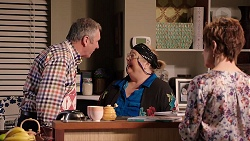 Karl Kennedy, Jemima Davies-Smythe, Susan Kennedy in Neighbours Episode 7927