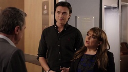 Paul Robinson, Leo Tanaka, Terese Willis in Neighbours Episode 7928