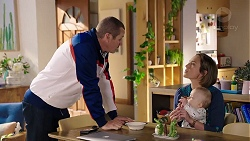Toadie Rebecchi, Sonya Mitchell, Hugo Somers in Neighbours Episode 7930