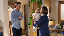 Mark Brennan, Hugo Somers, Sonya Mitchell in Neighbours Episode 7930