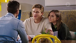 Mark Brennan, Cassius Grady, Piper Willis in Neighbours Episode 7930