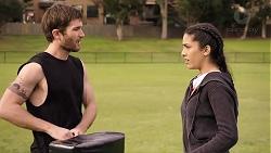 Ned Willis, Yashvi Rebecchi in Neighbours Episode 7930