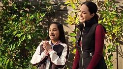 Kirsha Rebecchi, Mishti Sharma in Neighbours Episode 7930