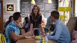 Aaron Brennan, Elly Conway, Mark Brennan in Neighbours Episode 7931