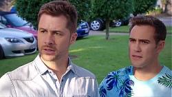 Mark Brennan, Aaron Brennan in Neighbours Episode 7931