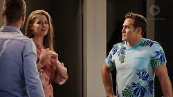 Mark Brennan, Chloe Brennan, Aaron Brennan in Neighbours Episode 7932