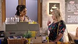 Dipi Rebecchi, Sheila Canning in Neighbours Episode 7932