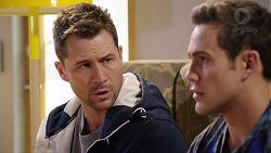 Mark Brennan, Aaron Brennan in Neighbours Episode 7932