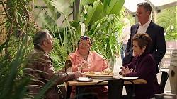 Karl Kennedy, Jemima Davies-Smythe, Paul Robinson, Susan Kennedy in Neighbours Episode 7932