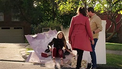 Chloe Brennan, Dipi Rebecchi, Shane Rebecchi in Neighbours Episode 7932