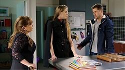 Terese Willis, Chloe Brennan, Mark Brennan in Neighbours Episode 7933