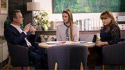 Paul Robinson, Chloe Brennan, Terese Willis in Neighbours Episode 7933