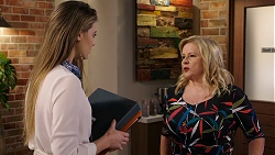 Chloe Brennan, Sheila Canning in Neighbours Episode 7933