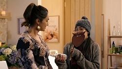 Dipi Rebecchi, Yashvi Rebecchi in Neighbours Episode 7933