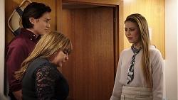 Leo Tanaka, Terese Willis, Chloe Brennan in Neighbours Episode 7934