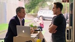 Paul Robinson, Aaron Brennan in Neighbours Episode 7934