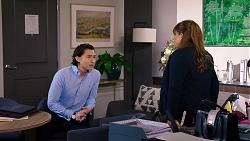 Leo Tanaka, Terese Willis in Neighbours Episode 7934