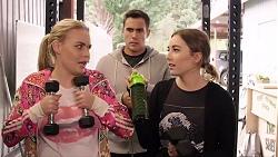 Xanthe Canning, Aaron Brennan, Piper Willis in Neighbours Episode 7934