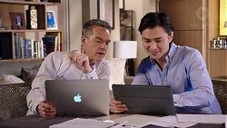 Paul Robinson, Leo Tanaka in Neighbours Episode 7934