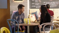 Mark Brennan, Mishti Sharma in Neighbours Episode 7935