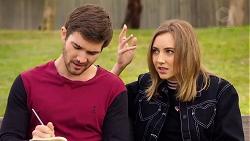 Ned Willis, Piper Willis in Neighbours Episode 7935