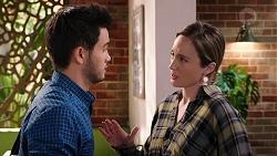 David Tanaka, Sonya Mitchell in Neighbours Episode 7935