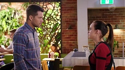 Mark Brennan, Bea Nilsson in Neighbours Episode 7935