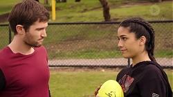 Ned Willis, Yashvi Rebecchi in Neighbours Episode 7935