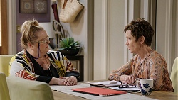 Jemima Davies-Smythe, Susan Kennedy in Neighbours Episode 7936