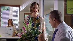 Piper Willis, Sonya Mitchell, Toadie Rebecchi in Neighbours Episode 7937