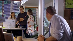 Piper Willis, Cassius Grady, Sonya Mitchell, Toadie Rebecchi in Neighbours Episode 7937