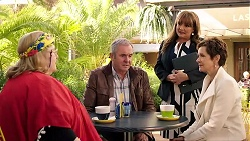 Jemima Davies-Smythe, Karl Kennedy, Terese Willis, Susan Kennedy in Neighbours Episode 7938
