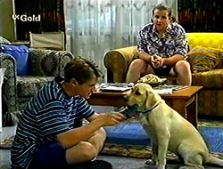 Lance Wilkinson, Toadie Rebecchi, Bonnie in Neighbours Episode 2790