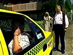 Claudia Harvey, Madge Bishop, Harold Bishop in Neighbours Episode 2790