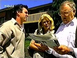 Karl Kennedy, Madge Bishop, Harold Bishop in Neighbours Episode 2790