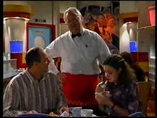 Philip Martin, Harold Bishop, Hannah Martin in Neighbours Episode 3175