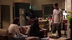 Elly Conway, Mishti Sharma, Mark Brennan in Neighbours Episode 7939