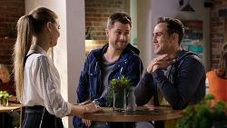 Chloe Brennan, Mark Brennan, Aaron Brennan in Neighbours Episode 7940